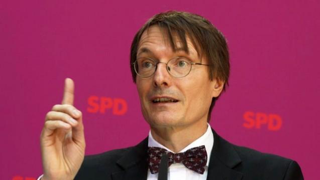 SPD-Fraktionsvize Karl Lauterbach fordert den Bundesgesundheitsminister auf, den Gesundheitsfonds nicht auszunehmen. (Foto: Sket)