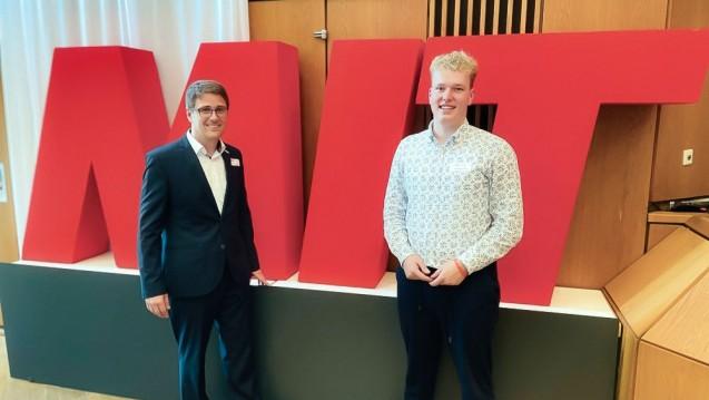 Benedikt Bühler (rechts) und der neue MIT-BaWü-Chef Bastian Atzger wollen den Präsenzapotheken den Rücken stärken. (Foto: MIT Kreisverband Karlsruhe Stadt)