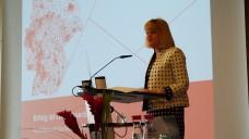 Claudia Korf präsentierte die Zahlen für 2014. (Foto: DAZ)