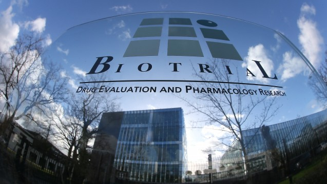 Das Auftragsforschungsunternehmen Biotrial führte die Studie im Auftrag des portugiesischen Pharmaherstellers Bial durch. (Photo: dpa / picture alliance)