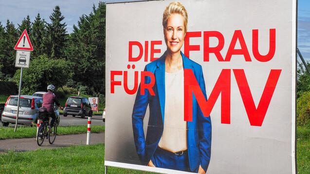 Am Sonntag wählt der Nordosten einen neuen Landtag: Manuela Schwesig verhilft der SPD in Mecklenburg-Vorpommern zu Traumwerten von knapp 40 Prozent – jedenfalls in Umfragen. (Foto: IMAGO / Roland Hartig)
