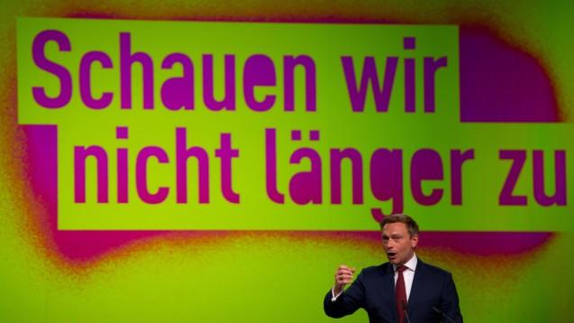 Die FDP will wieder in den Bundestag, macht sich unter Apothekern aktuell jedoch nicht viele Freunde. (Foto: dpa)
