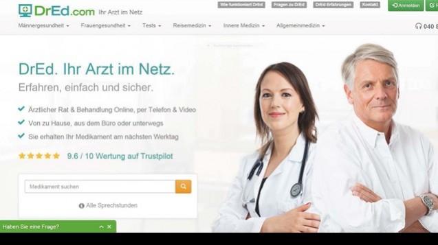 Nur sachlich argumentieren: Die Online-Arztpraxis DrEd streitet sich mit BÄK-Präsident Frank-Ulrich Montgomery. (Screenshot: DAZ.online)