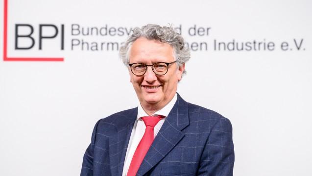Die Delegierten der digitalen BPI-Hauptversammlung wählten Dr. Hans-Georg Feldmeier zum neuen Vorsitzenden des Verbandes.(c / Foto: BPI / Krupp)