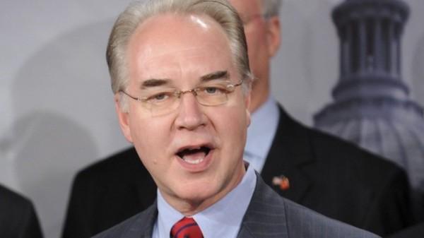 Tom Price als US-Gesundheitsminister ernannt