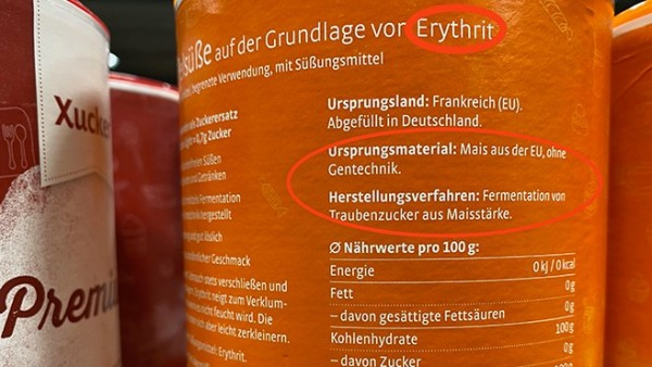"Erythrit – der Zucker ""light"""