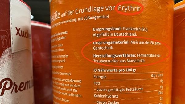 """Erythrit – der Zucker """"light"""""""