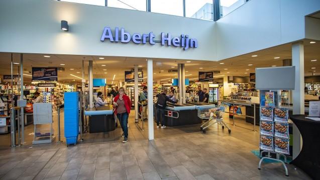 In den knapp 200 Filialen der Lebensmittelkette Albert Heijn werden Medikamente angeboten, deren Abgabe eigentlich auf die Apotheken und Drogerien beschränkt ist. (m / Foto: imago images / Pro Shots)
