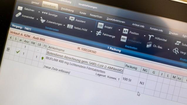 7,8 Millionen abgerechnete Botendienste hat IQVIA bis bis Ende Juli gezählt. (x / Foto: Schelbert)