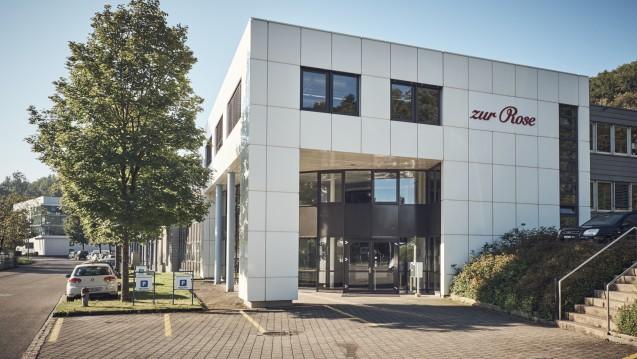Zur Rose (hier der Firmensitz in Frauenfeld) will durch eine Kapitalerhöhung bis zu 39 Millionen Franken an frischem Geld generieren. (Foto: Zur Rose)