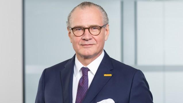 Stefan Oschmann, Vorsitzender der Geschäftsleitung und CEO von Merck, freut sich über Rekord-Umsätze. (Foto: Merck)