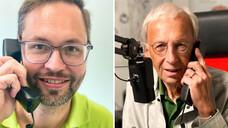 Apotheker Dr. Christian Machon und Peter Ditzel. (s / Fotos: privat)