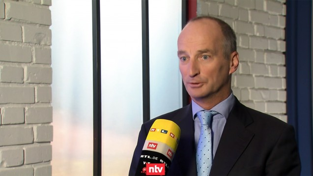 ABDA-Präsident Friedemann Schmidt im Interview mit dem Fernsehsender n-tv. (Quelle: n-tv)