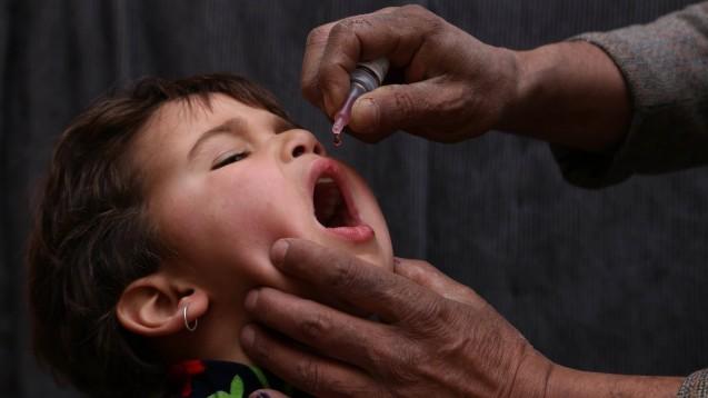 Im Januar 2020 wurde in Afghanistan eine Impfkampagne gegen Polio gestartet. ( r / Foto: imago images / Xinhua)
