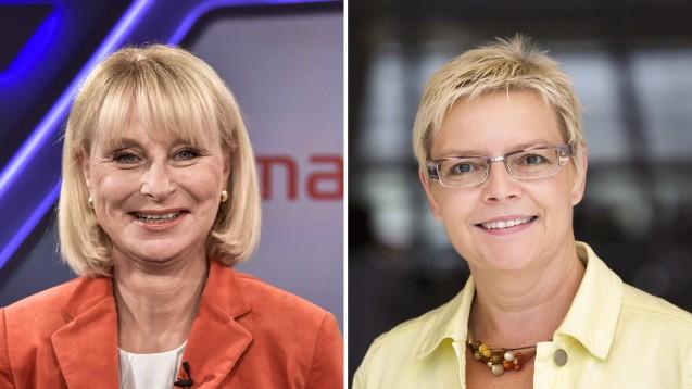 Karin Maag (CDU) und Sabine Dittmar (SPD) erklären gegenüber DAZ.online, warum sich die Regierungsfraktionen nicht auf die Verlängerung der PTA-Ausbildung einigen konnten. (m / Foto: imago images / Horst Galuschka | photothek)