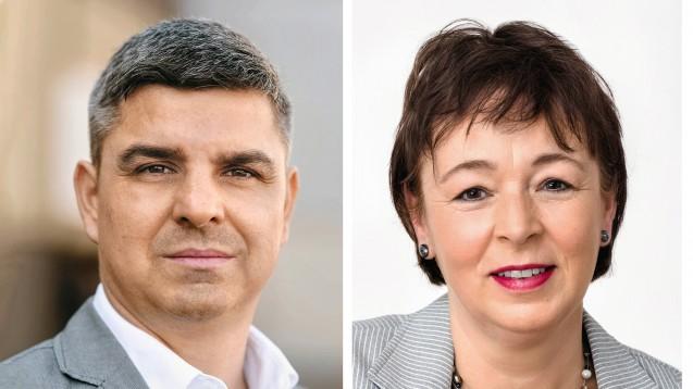 Die beiden Adexa-Vorsitzenden Andreas May und Tanja Kratt sind sauer: Sie haben die Verhandlungen zum Bundesrahmentarifvertrag abgebrochen, weil ihnen die Arbeitgeber-Vertreter eigenen Angaben zufolge kein Stück weit entgegenkamen. (c / Foto: Adexa)