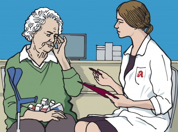 Spannungsfeld Deprescribing – eine Patientin mit Polymedikation