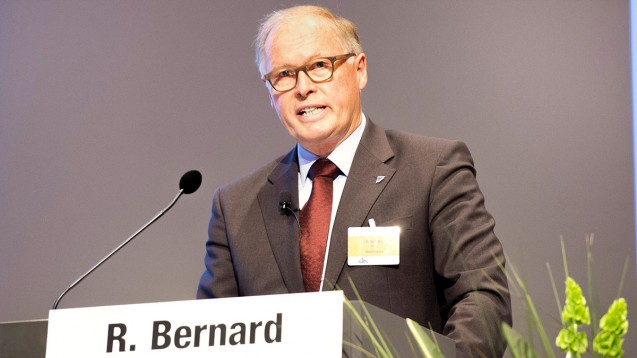 """""""Das Krankenhaus wird zum Treiber des Medikationsplans in Deutschland, zum Treiber bei dessen Verbreitung"""", so Bernard."""