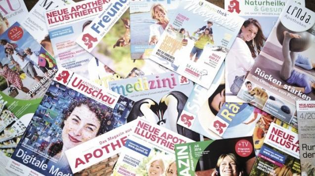 Ohne Kundenzeitschrift geht es in Apotheken kaum noch. (Foto: diz)