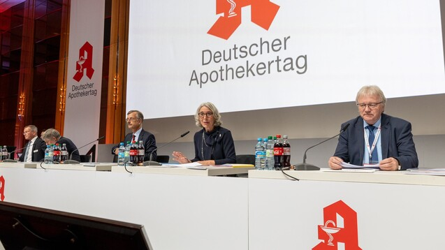 """ABDA-Präsidentin Gabriele Regina Overwiening wünscht sich eine """"aktive und agile ABDA"""". (Foto: Schelbert)"""