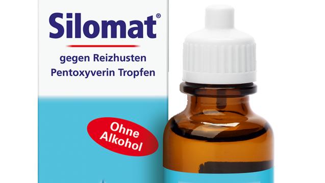 Die Marke Silomat gibt es in der Apotheke noch. Die Präparate enthalten aber schon lange kein Clobutinol mehr. (Foto: Boehringer)