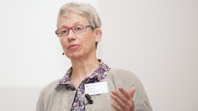 Die ehemalige Bundestagsabgeordnete der Grünen, Birgitt Bender, wechselt ins Kassenlager und wird Leiterin der vdek-Landesvertretung in Baden-Württemberg. (Foto: Külker)
