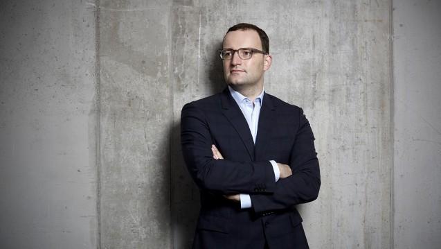 Ex-Gesundheitspolitiker Jens Spahn veröffentlicht in einem Buch seine Visionen zur Digitalisierung des Gesundheitswesens. (Foto: Laurence Chaperon)