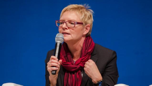 Die SPD-Politikerin Sabine Dittmar verteidigte die Positionen der Apotheker an vielen Stellen. Beispielsweise macht sie sich dafür stark, dass Impfstoff-Rabattverträge abgeschafft werden. (Foto: Schelbert)