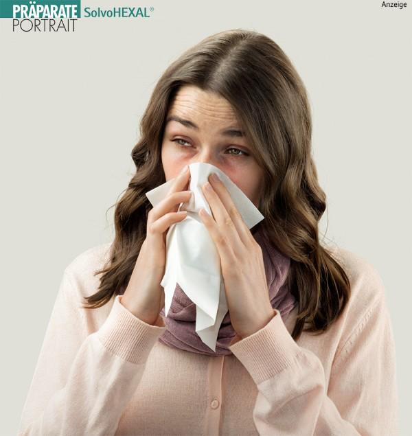 Erkältung mit Schnupfen?