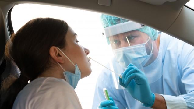 Als Maß für die tatsächlich vorhandene Menge an Virus-RNA kann der beim PCR-Test ermittelte Ct-Wert herangezogen werden. (Foto: Alexander Raths / stock.adobe.com)