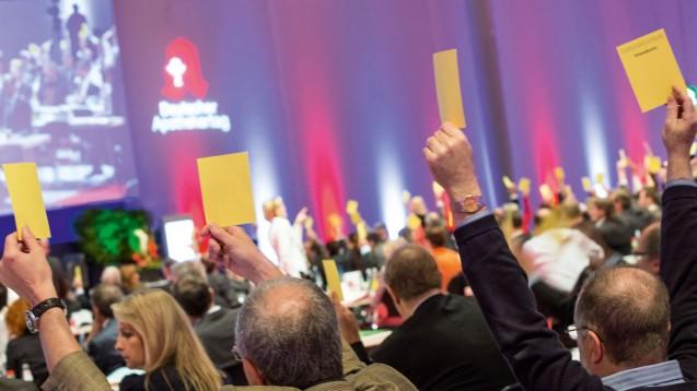 """Der Deutsche Apothekertag (hier 2014 in München) wird auch als """"Apotheker-Parlament"""" bezeichnet. Aber welche Aufgaben hat er eigentlich genau? (Bild: DAZ/A. Schelbert)"""