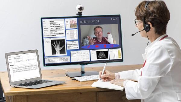 Ärzte, Apotheker und Kassen in Hessen testen Videosprechstunde und E-Rezept
