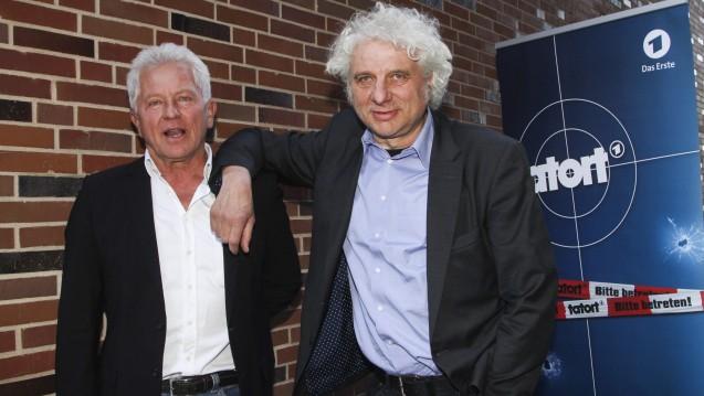 Die Münchener Tatort-Kommissare (von links) Batic (Miroslav Nemec) und Leitmayr (Udo Wachtveitl) ermitteln im Todesfall eines jungen Mannes, der sich hinterher als Suizid herausstellt. (Foto:picture alliance)