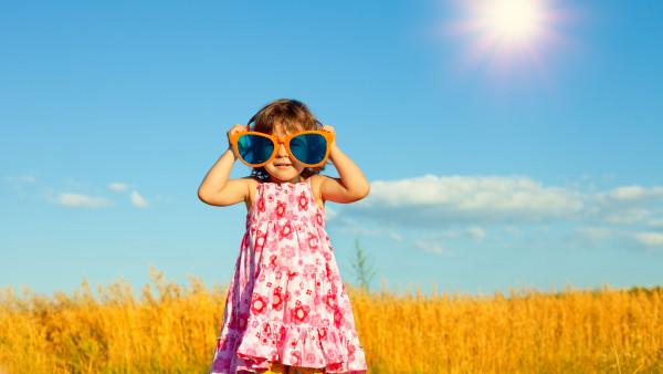 Ein Mydriatikum für ein kleines Mädchen