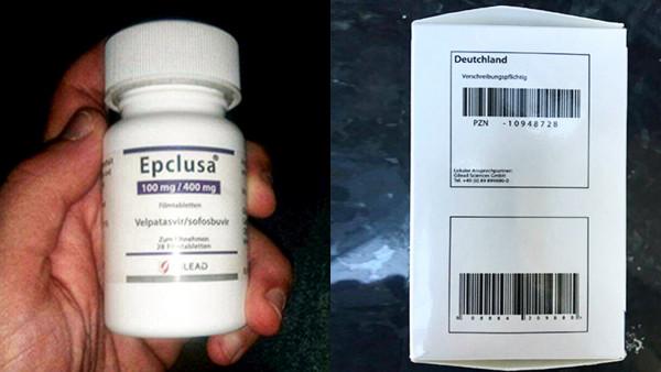 Großhändler bekommt gefälschtes Epclusa angeboten