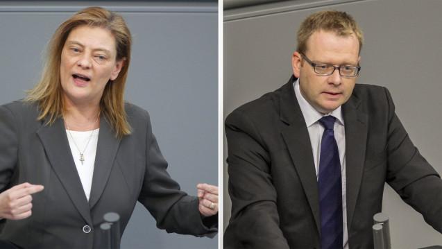 Die CDU-Politikerin Sabine Weiss und ihr Fraktionskollege Thomas Gebhart werden neue Staatssekretäre im Bundesgesundheitsministerium. (Foto: Imago)