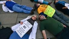 Trumps Pläne, Obamacare zu ersetzen, sorgen für Proteste. (Foto: picture alliance / ZUMA Press)