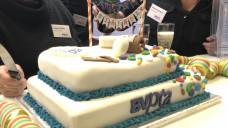 Eine Torte zum 50. Geburtstag des PTA-Berufs. (Foto: jb / DAZ.online)