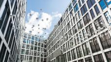 Die Hauptverwaltung vonCelesio / McKesson in Stuttgart bei ihrer Eröffnung im Mai. (Foto: Unternehmen)