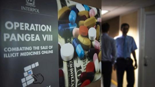 Globaler Schlag gegen Arzneimittelfälscher
