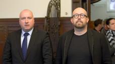 Rechtsanwalt Prof. Carsten Wegner und sein Mandant Thomas Bellartz haben Probleme mit der Staatsanwaltschaft. (Foto: Külker)