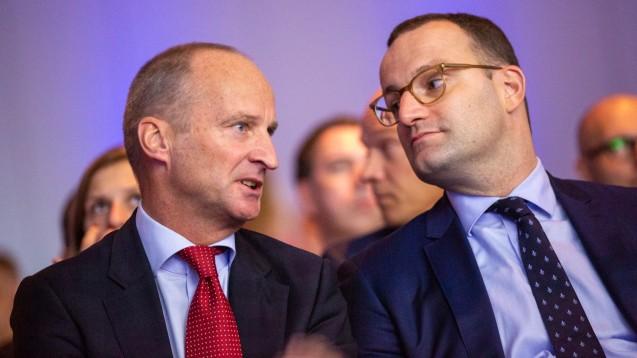 ABDA-Präsident Friedemann Schmidt hat sich zu Jens Spahns (CDU) Halbzeitbilanz als Bundesgesundheitsminister geäußert. (s / Foto: Archiv / DAT / Schelbert)