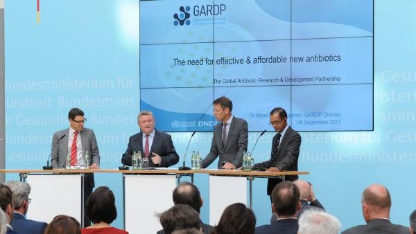 56 Millionen Euro für neue Antibiotika