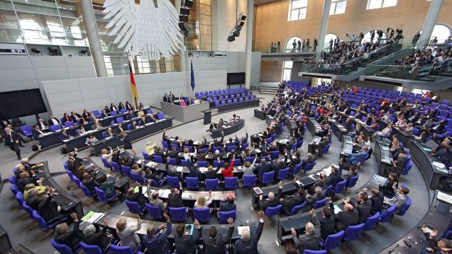 Erst ab 20 Mitarbeitern müssen Betriebe zukünftig einen Datenschutzbeauftragten bestellen. Das hat der Bundestag beschlossen. (c / Foto: imago images / epd)