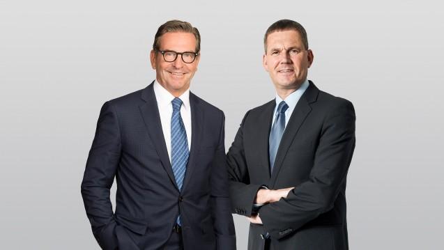 Die neuen alten Chefs: Dr. Thomas Trümper und Ralph-D. Schüller bleiben an der Spitze des Phagro. (Foto: Phagro)