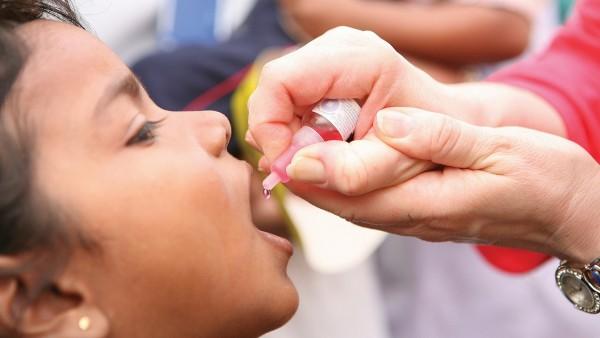 Polioviren in indischem Abwasser gefunden
