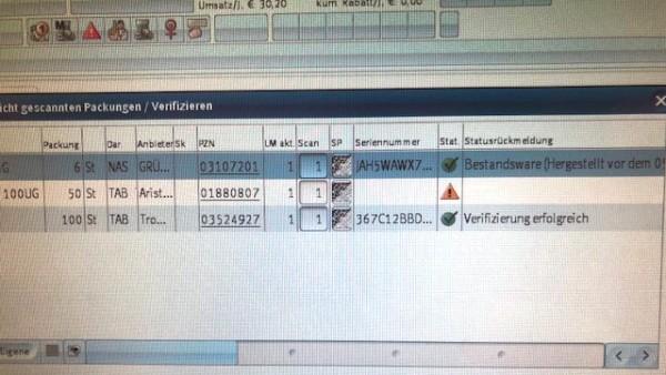 Securpharm-Datenbank nicht erreichbar – und nun?