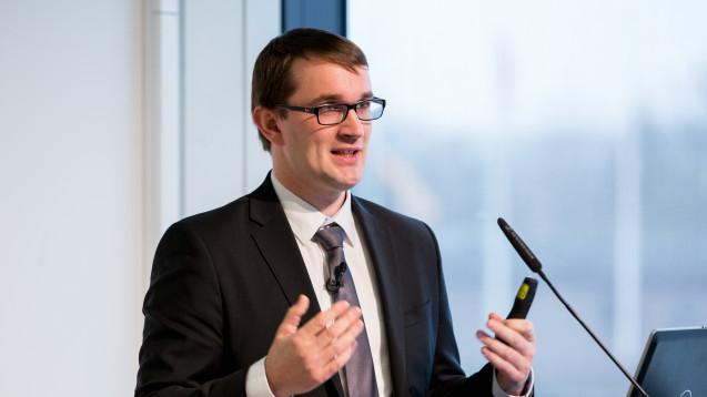 Auch Apotheken verarbeiten und übermitteln sensible Daten. Wie gut muss die Apotheke diese schützen? Dr. Lukas Kalkbrenner gab auf der Interpharm seine Einschätzung. (Foto: Schelbert / DAZ.online)