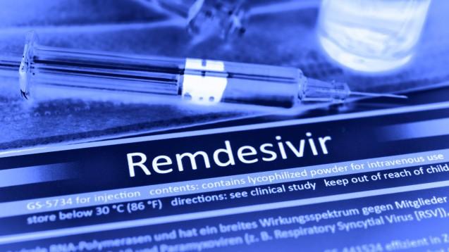 Die USA sichern sich eine halbe Million Behandlungen mit Remdesivir. Was bleibt für andere Länder? (s / Foto: imago images / Christian Ohde)