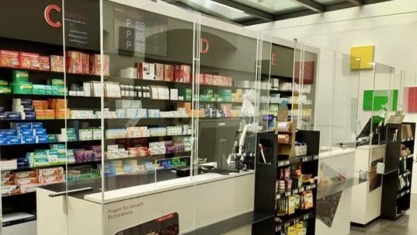 Coronavirus-Tipps aus einer Apotheke in Italien